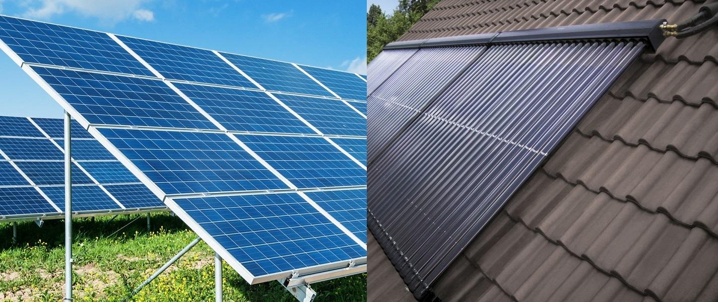 Diferencia entre Panel Fotovoltaico y Panel Termico