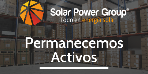 Solar Power Group permanece activo durante pandemia por COVID-19