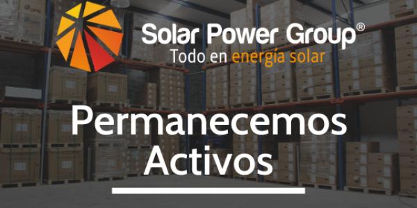 Solar Power Group permanece activo durante pandemia por COVID-19